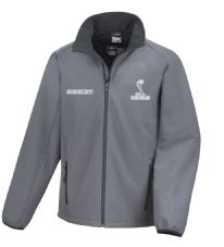 Offizielles Lizenziertes Shelby Cobra Ford Mustang Softshell-Rennjacke/Jacke